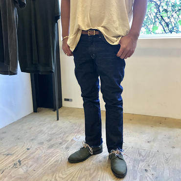 jonnlynx men's student boots cut indigo denim Tlalli exclusive