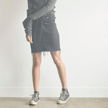 jonnlynx  lace-up skirt