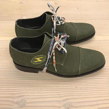 Esquivel Shoes × Nick Fouquet  Vintage French Military Hemp Canvas US10