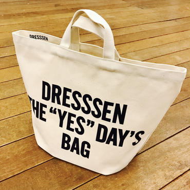 "DRESSSEN  DRESSSEN THE ""YES""DAY'S BAG"