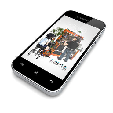 Wallpaper For Smart Phone [009] TMW01-009