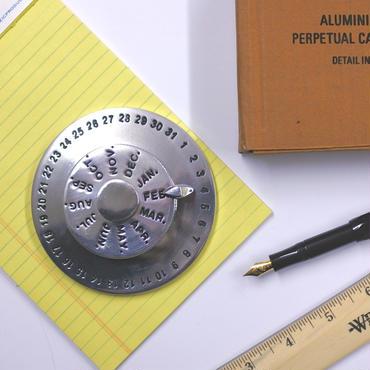 Aluminium Perpetual Calendar