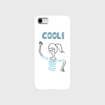 "kazaho furusho smart phone case for iPhone ""COOL"""