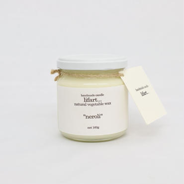 "fragrance candle ""neroli"""