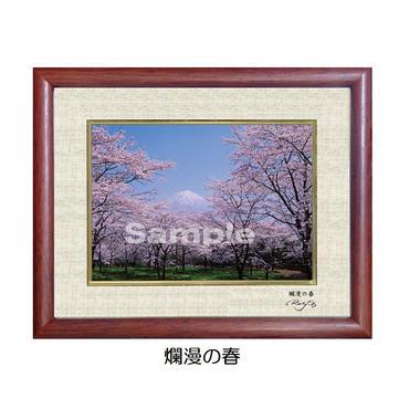 特製キャビネサイズ『爛漫の春』