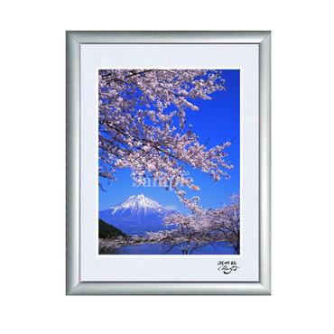 キャビネ作品 『湖畔桜』