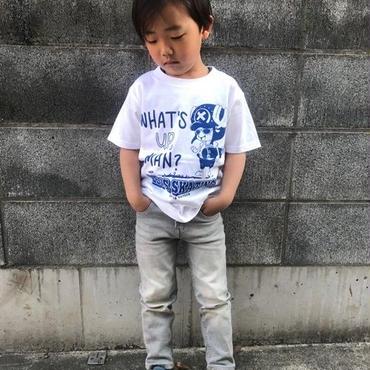 【アニメ/ONE PIECE・ワンピース】チョッパーコラボ・キッズTシャツ