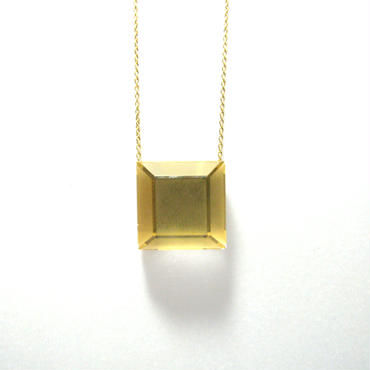 118 Matte&Clear Necklace Square