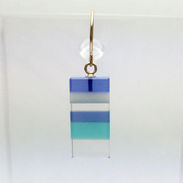 縞々 PIERCE BLUE(0.5pair)