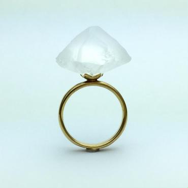 KACHIWARI RING white