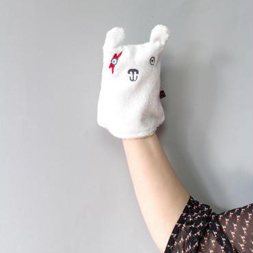 アニマル顔拭き(スマイル顔)/ Terri Leahy