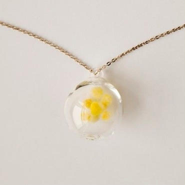 necklace sphere (yellow)