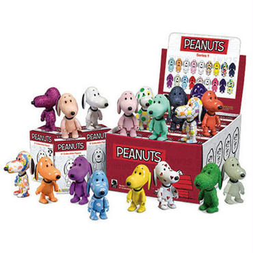 Snoopy Qee Mystery Box Series Random 3-Pack