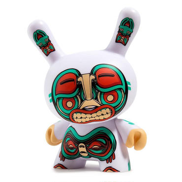 """Kuba 5"""" White Dunny by Mike Judge"""