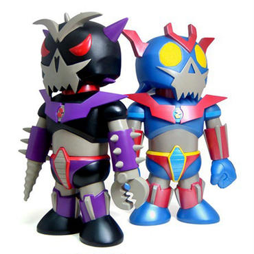 Toyer Z and Toyer Enemy by Frank Kozik