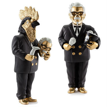 "General Tso's Nightmare Kidrobot Exclusive ""GOLD"" by Frank Kozik"