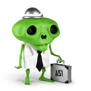Karoshi San - Area 51 Edition by Andrew Bell