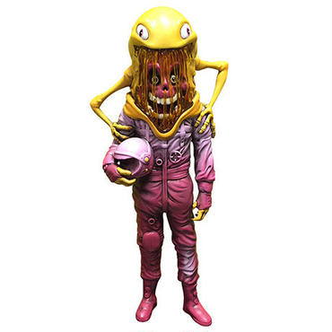 The Astronaut by Alex Pardee