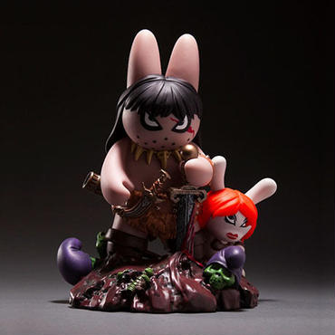 Labbit the Barbarian by Frazetta and Kozik