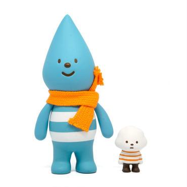 Little Raindrop with Mini Mr. White Cloud