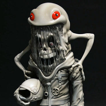 The Astronaut (Abominable edition) by Alex Pardee