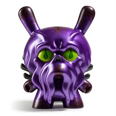 """King Howie 8"""" Dunny - Purple by Scot Tolleson"""