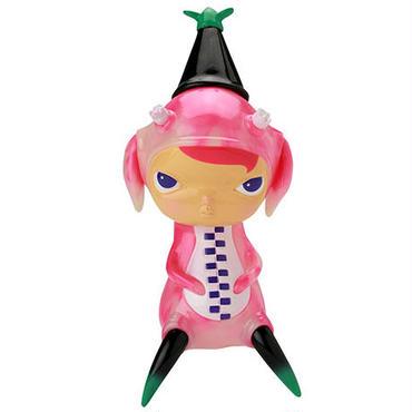 Calliope Jackalope Pink GID SWIRL by Kathie Olivas