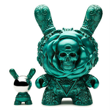 "Arcane Divination The Clairvoyant 8"" Dunny - Teal by J*RYU"