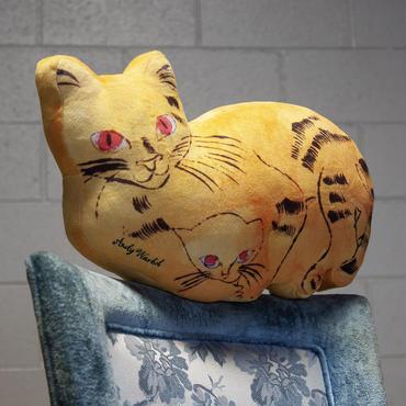 Andy Warhol Yellow Sam the Cat Plush