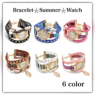 サマーシェル・jewelry腕時計