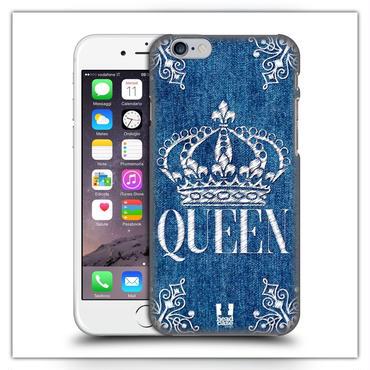 iPhone7*デニム QUEENケース