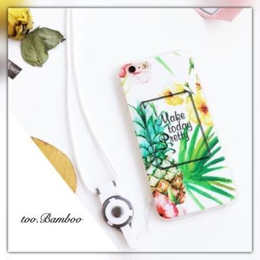 iPhone6.6s/6plus/7/7plus*pineapple pretty summer