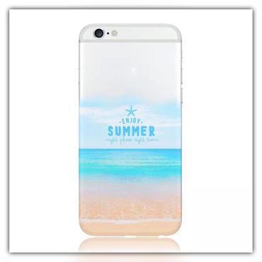 iPhone6.6s*enjoy SUMMERソフトケース