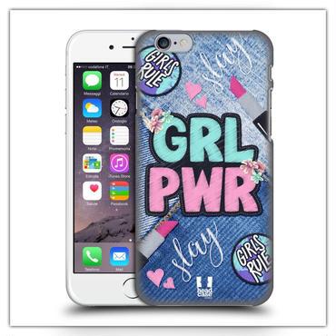 iPhone7*デニム GRLPWRケース