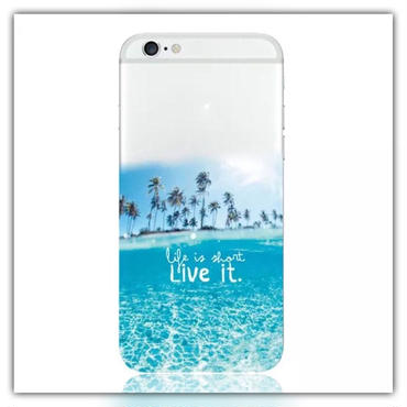 iPhone6.6s*Live it summerソフトケース