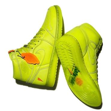 "AIR JORDAN 1 × GATORADE ""LIKE MIKE""  LEMON-LIME"