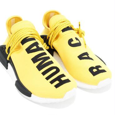 adidas アディダス ×PHARRELL WILLIAMS PW HUMAN RACE NMD BB0619 スニーカー 黄黒 並行輸入品