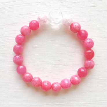薔薇のディープピンクブレス