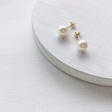 あこや真珠:pearl pierce[K14GF]