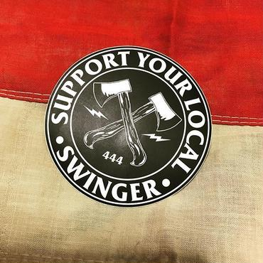 SWINGER_AX_Sticker_80mm