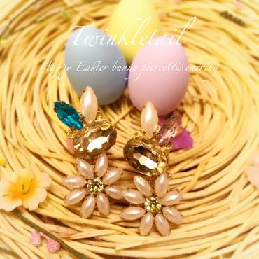 Happy Easter Bunny pierce&earring♡ハッピーイースターバニーピアス&イヤリング♡5月末まで限定♡
