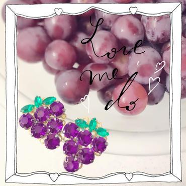 juicy grape pierces&earrings♡ぶどうピアス&イヤリング♡