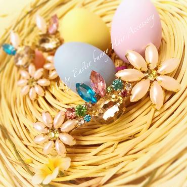 Happy Easter Bunny HairAccessory♡ハッピーイースターバニーヘアバレッタ♡5月末まで限定♡