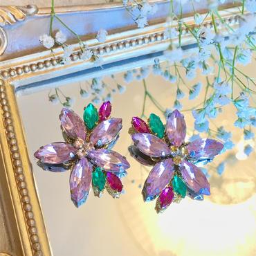 サンプル1点のみ即納!Cherry blossoms pierce&earring♡はんなり桜ピアス&イヤリング♡