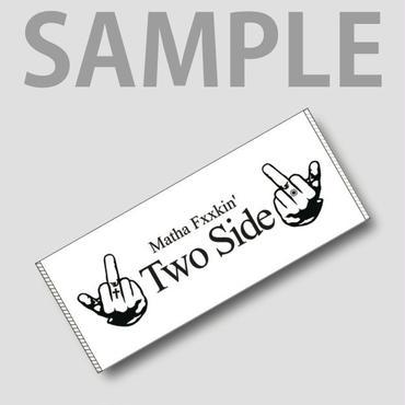 Two Side フェイスタオル