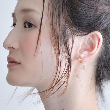 Grape Earring  グレープイヤリング ピンク