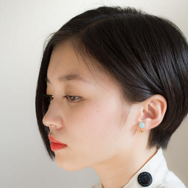 Maru Earring BLUE マル イヤリング ブルー