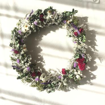 English garden wreathe
