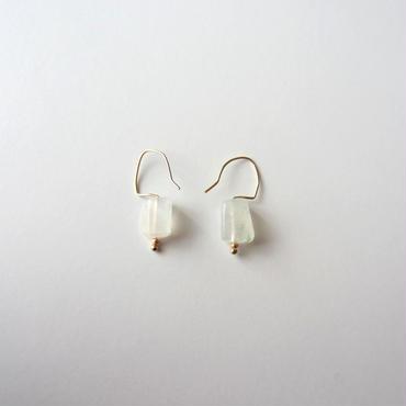 【UE022】Moonstone Earring 14KGF(ムーンストーン ピアス)