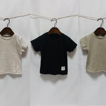 オーガニックコットン Tシャツ 3色